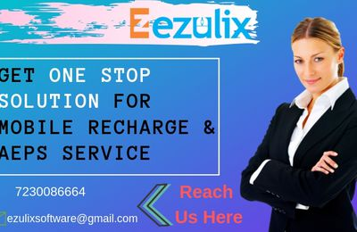 Get One Stop Solution for Mobile Recharge and AEPS Service in India