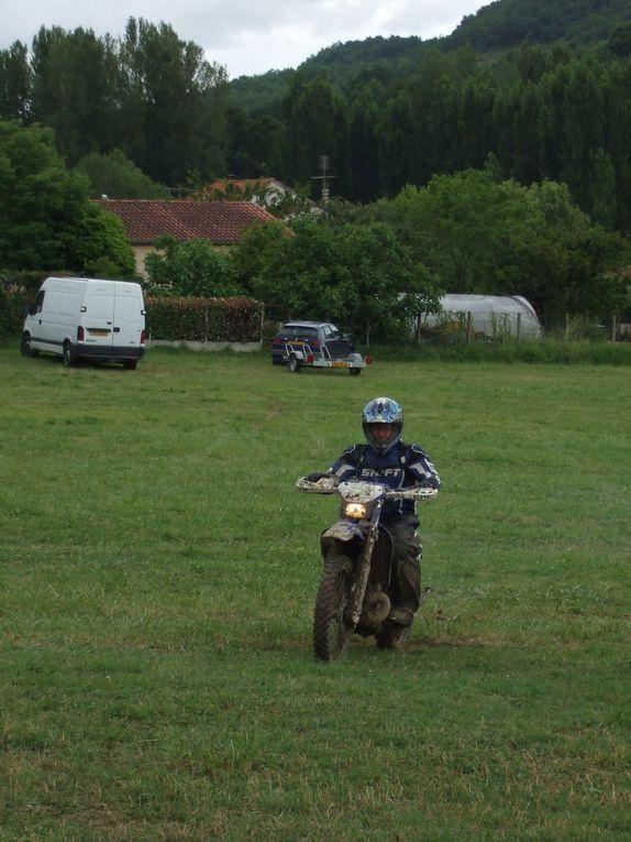 les grattes poussières randonnée enduro moto