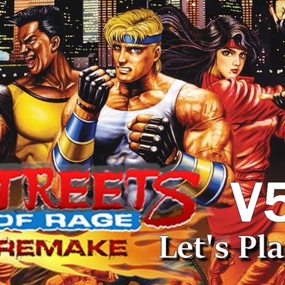PC - Streets Of Rage Remake V5.2 (Fangame)
