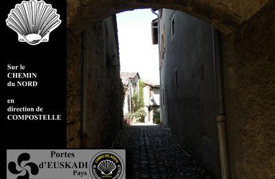 PORTES du PAYS BASQUE - EUSKADI ESPANA - Camino del Norte !