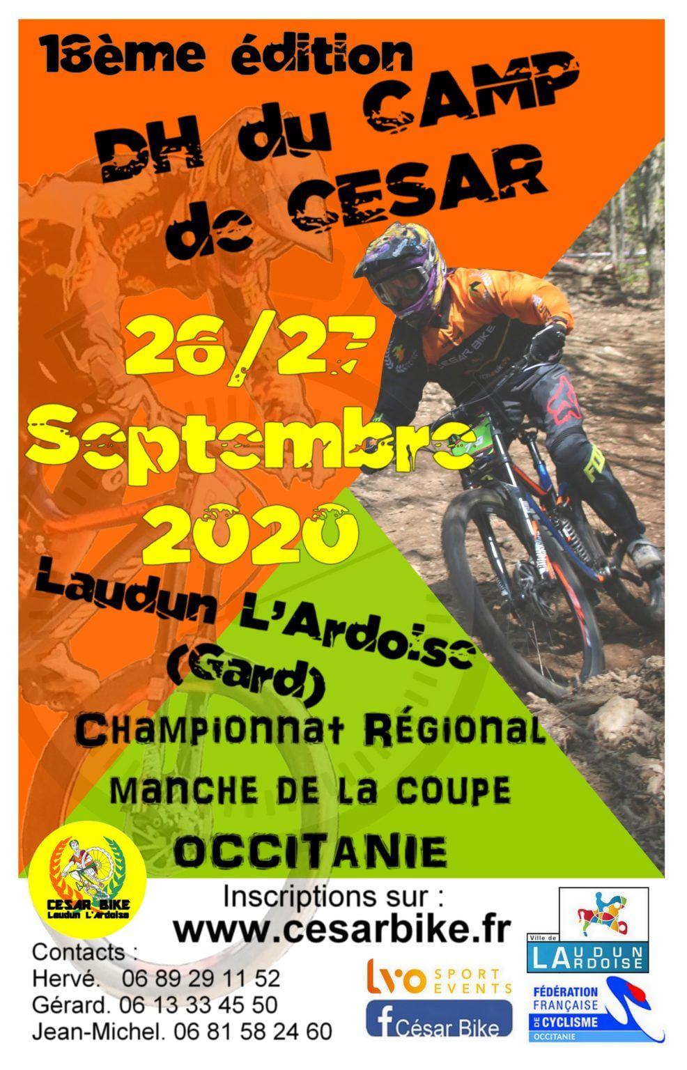 26 et 27 septembre 2020 - Descente VTT du Camp de César à Laudun