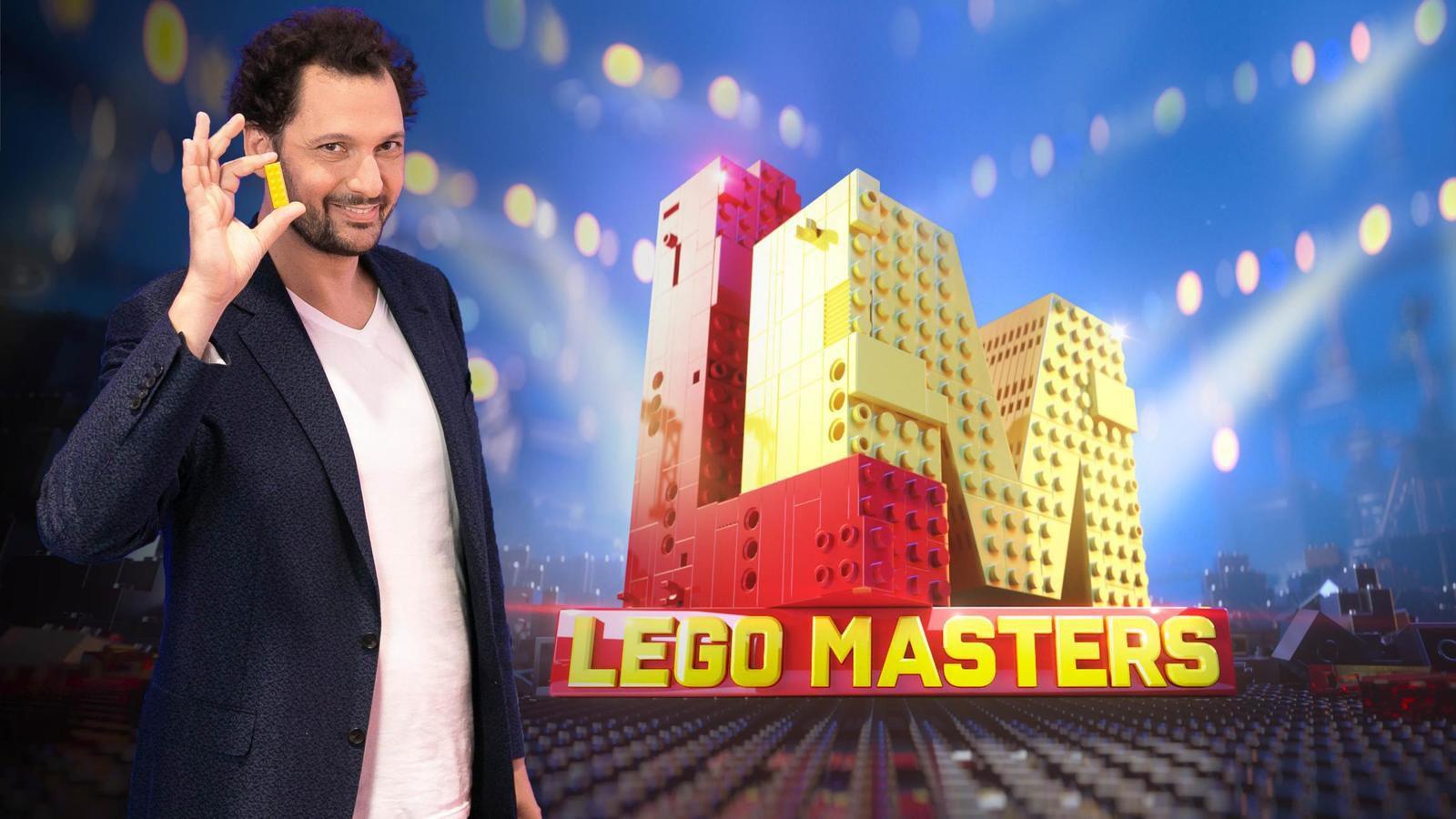 """Le concours """"Lego Masters"""" présenté par Eric Antoine débarque le 23 décembre sur M6"""
