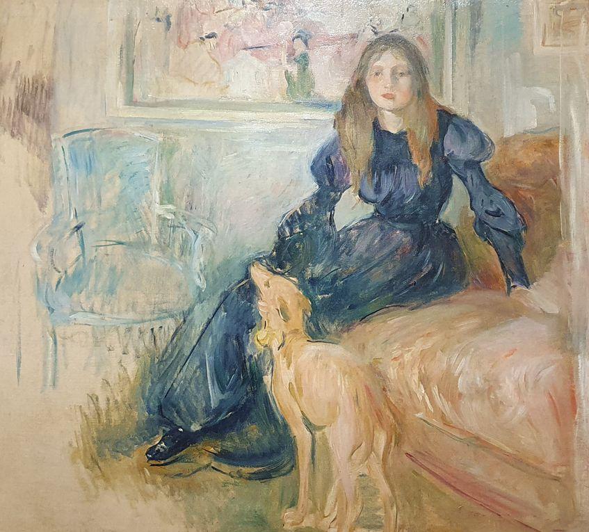 Berthe Morisot, exposition permanente au musée MArmottan