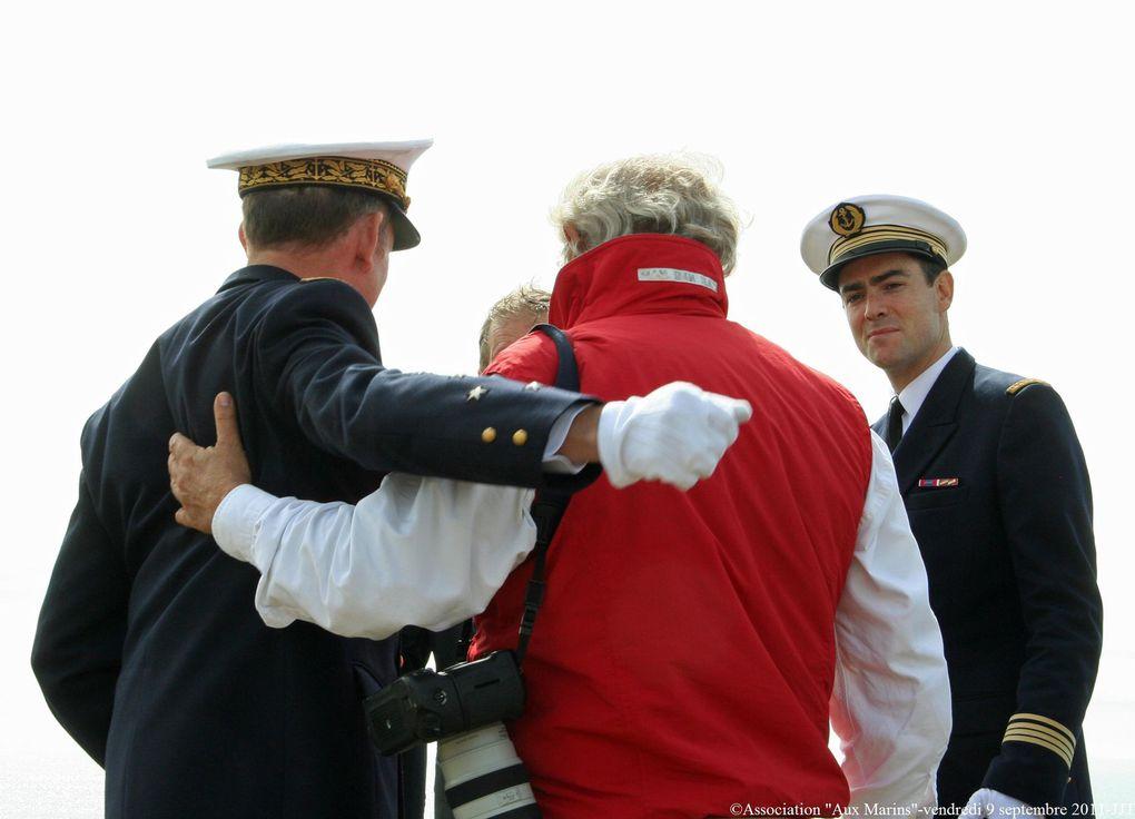 Vendredi 9 septembre 2011 - visite de l'Amiral Forissier, Chef d'Etat-Major de la Marine dans le cadre de sa visite d'adieu avant son départ de la marine.