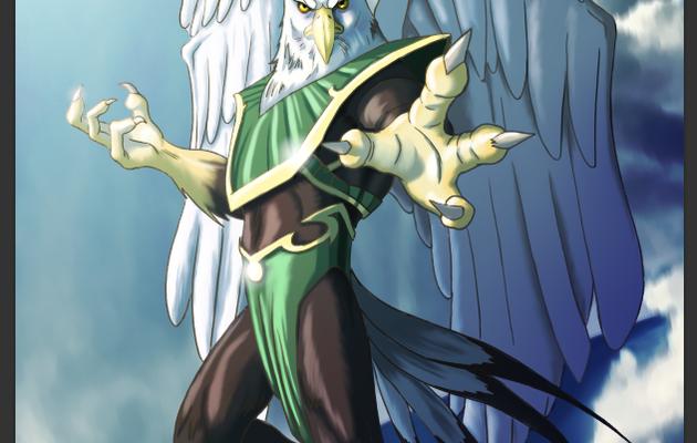 Alto le seigneur des airs pour Crystal Wars, version définitive.