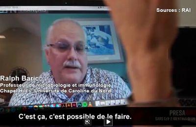 L'OMS doit, sans tarder, enquêter sur Ralph Baric, surnommé  le «chasseur de coronavirus » !