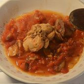 Râbles lapin tomates recette cookeo |