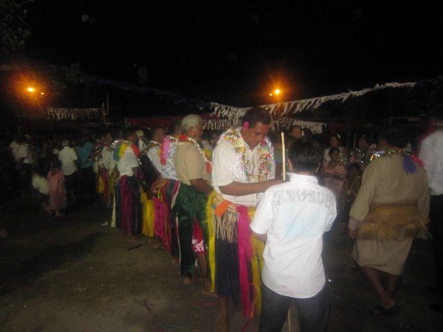 la fête du territoire, les cinquante ans d'un statut : fête à mata-utu et à vaitupu.