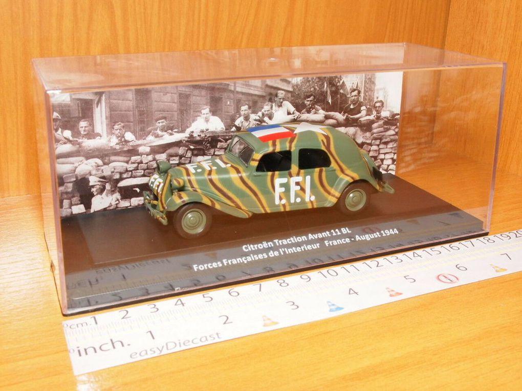 Autres photos de la Traction FFI (photos Ebay)