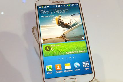 Hands-on with the Samsung Galaxy S4: Connect...