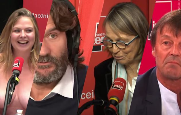 Les 10 moments culte de France Inter ! (Vidéos) #FranceInter