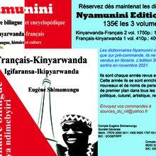 Les dictionnaires Nyamunini édition 2022