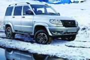 Patriot Artic : un UAZ pour l'hiver.