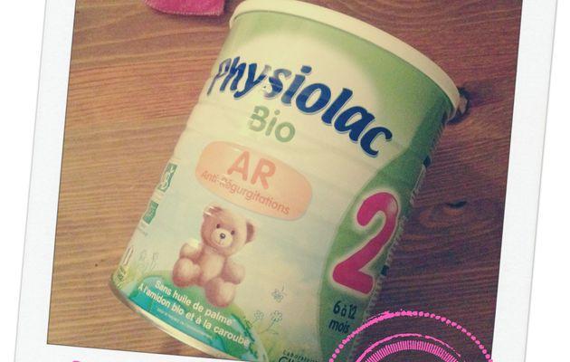 Les Lucioles ont testé et approuvé : Physiolac Bio AR
