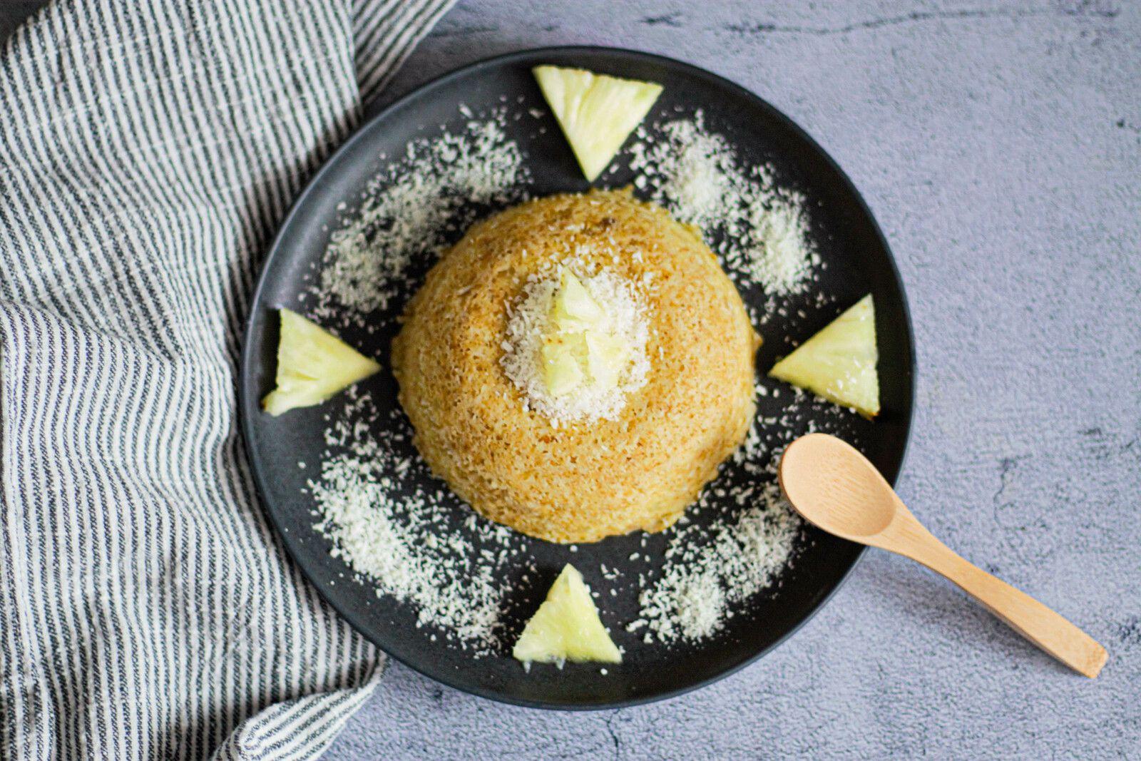 Bowlcake ananas et noix de coco