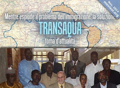 Mentre esplode il problema dell'immigrazione, la soluzione – Transaqua – torna d'attualità
