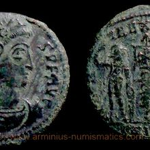 Constans, 337-340 AD., Siscia mint, Follis, RIC 99.