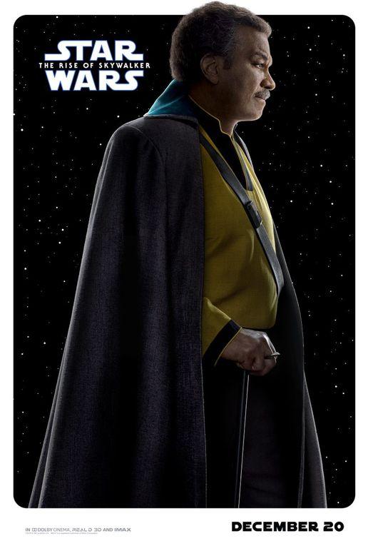 Nouvelle Série d'affiches sur L'ascension de Skywalker