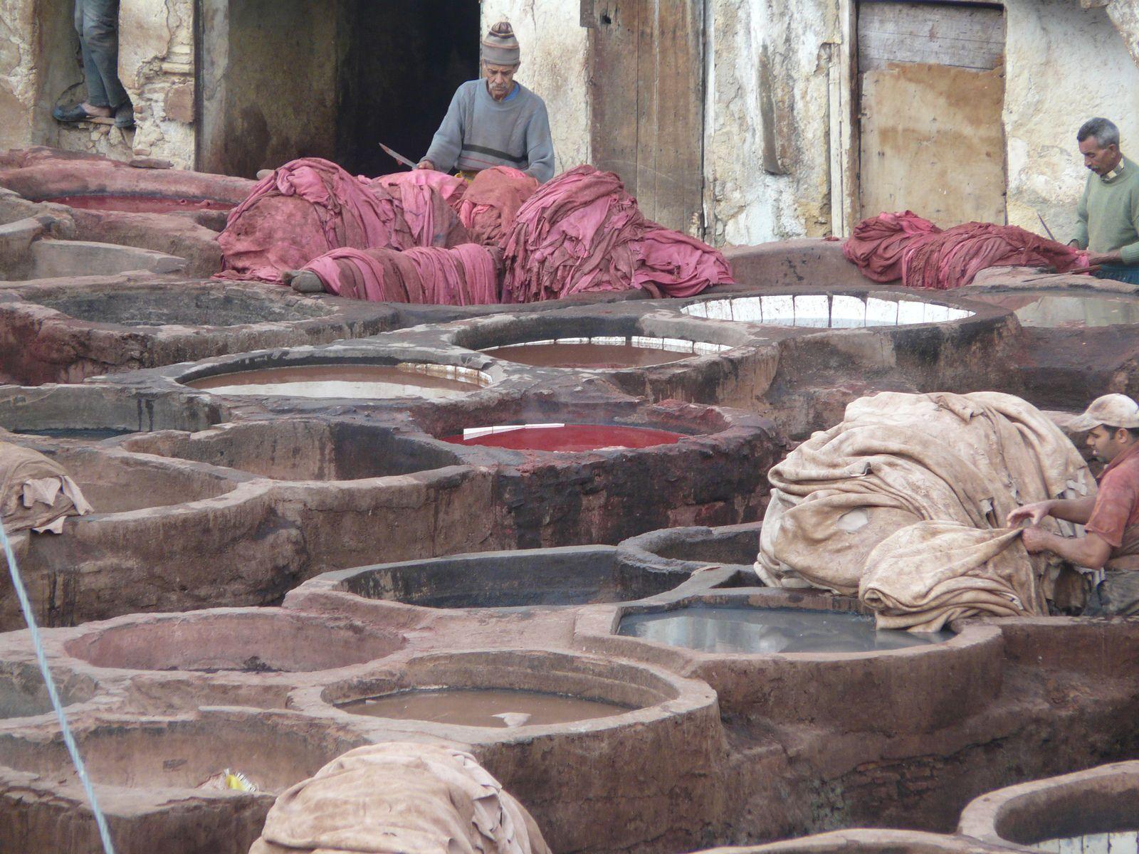 Pains marocains à la semoule