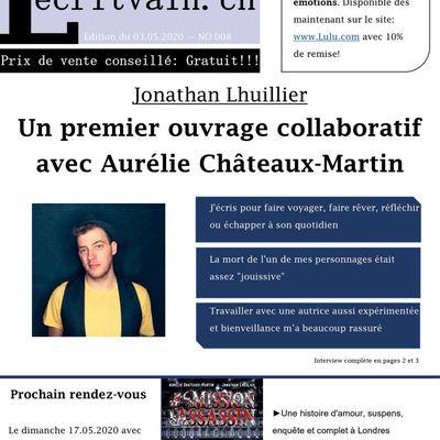 Lecritvain NO 008 du 03.05.2020 (Jonathan Lhuillier)