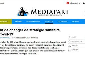 [Interdit de publication sur le JDD] Il est urgent de changer de stratégie sanitaire face à la Covid-19, par Laurent Mucchielli | Carlo Brusa (vidéo)