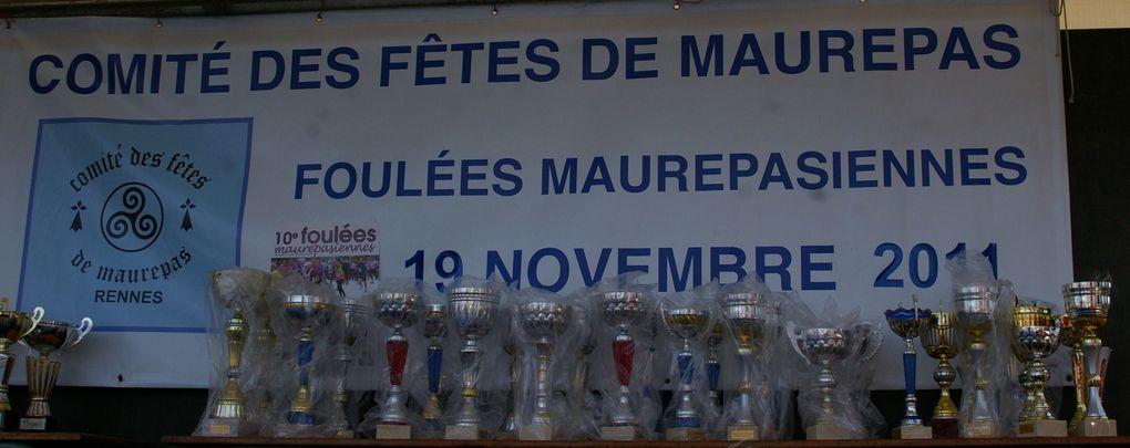 ce samedi 19 novembre, les bénévoles du comité des fêtes de maurepas, organisaient leur 10ème foulées maurepasiennes.