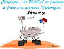 Curiosity : la Nasa se prépare à faire une annonce historique