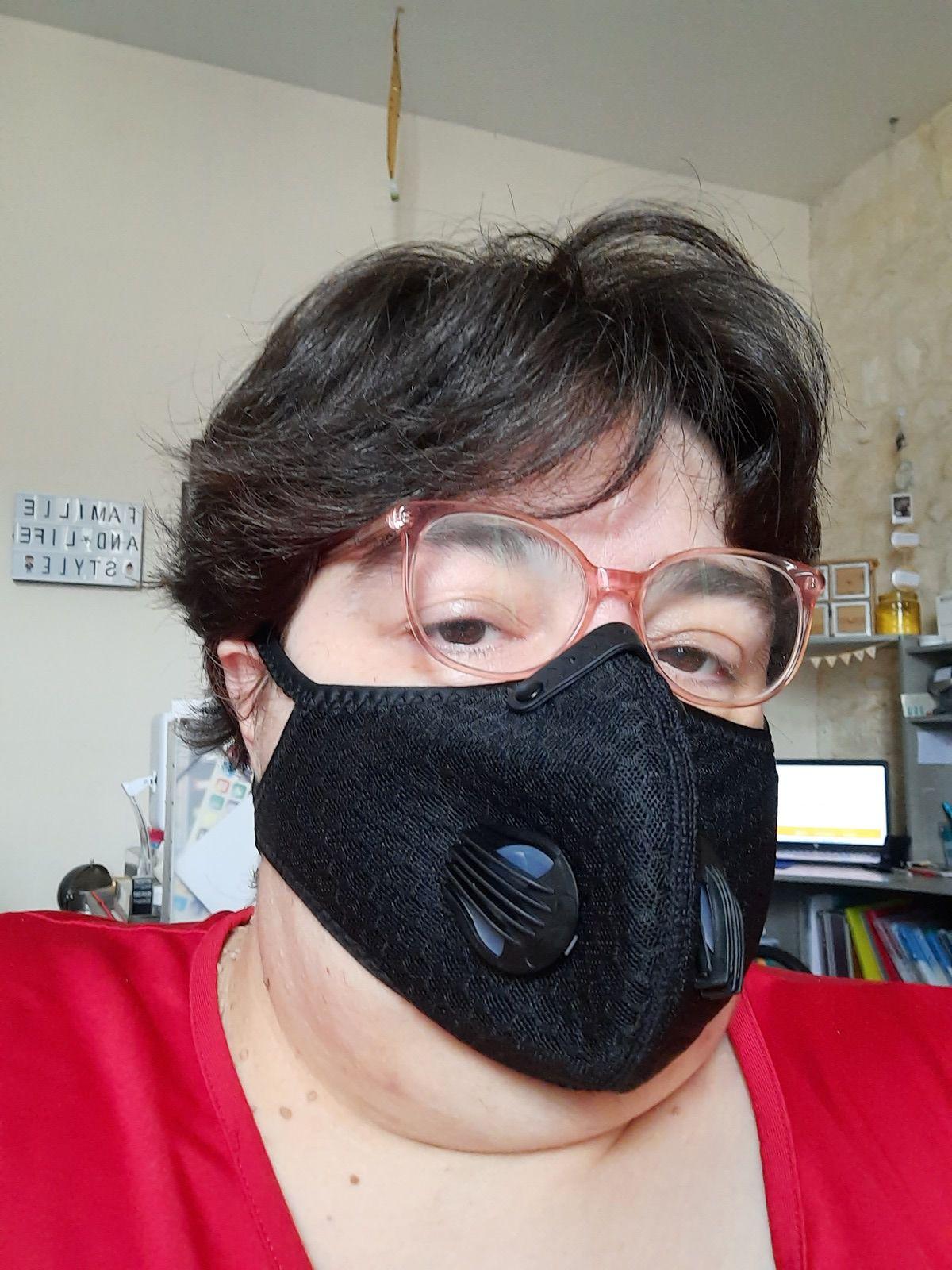Masque Lavable et Réutilisable Anti-poussière Anti-Pollution