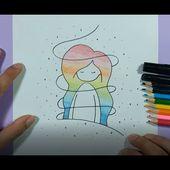 Como dibujar una niña paso a paso 2 | How to draw a girl 2