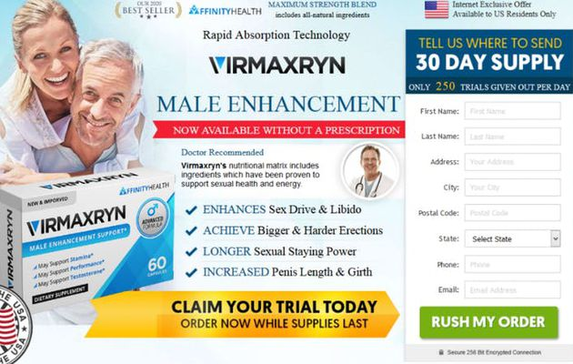 Virmaxryn:-Does It Really Work for Male Enhancement???