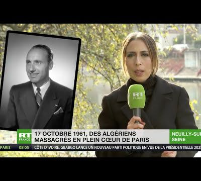 France : Massacre des Algériens du 17 Octobre 1961
