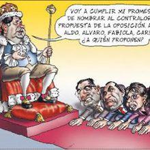 Las regalías del sociopático presidente peruano