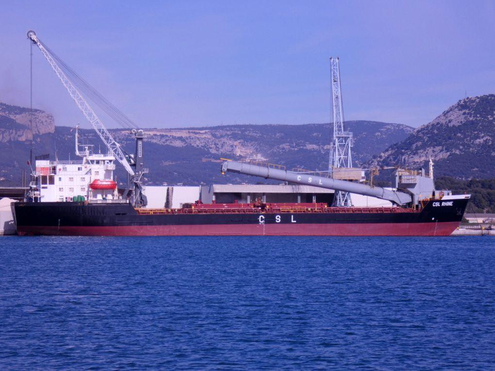 CSL RHINE  , à quai à Toulon /Brégaillon le 08 février 2019