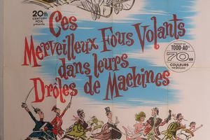 CES MERVEILLEUX FOUS VOLANTS DANS LEURS DROLES DE MACHINES (Those Magnificent Men in Their Flying Machines or How I Flew from London to Paris in 25 Hours 11 Minutes)