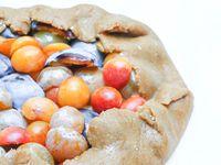 Tarte rustique vegan aux prunes @ Les gourmands {disent} d'Armelle