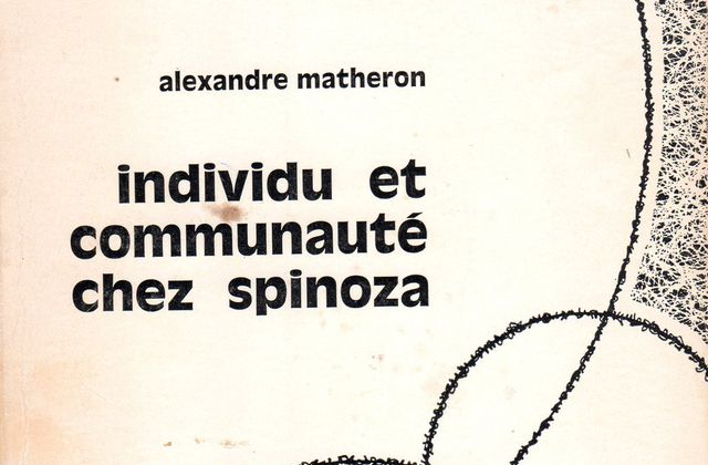 Spinoza par Matheron