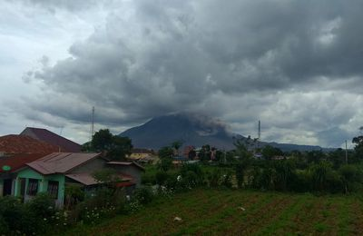 Activity of Sinabung, Fuego and Sabancaya.