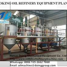 Small scale vegetable oil refinery machine working process