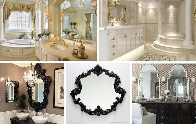 Practical home accessories - а mirror for the bathroom