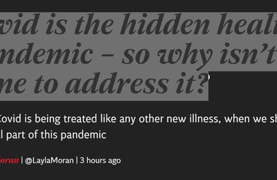 Article 14 janvier 2021 - The Independent - Long Covid is the hidden health crisis of the pandemic – so why isn't more being done to address it?