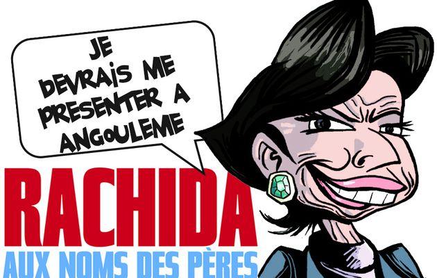 Rachida Dati héroïne de BD