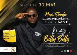 BILLY BILLY | AU COMMENCEMENT ETAIT LA PAROLE | MAXI SINGLE | WORLDZIK