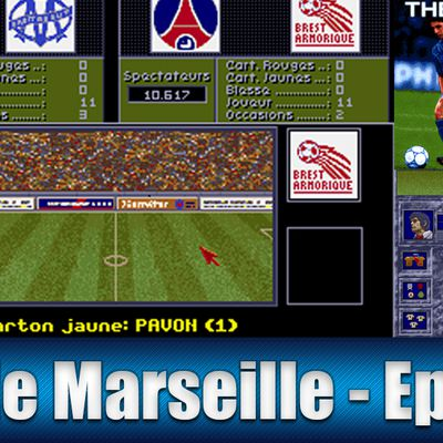 The Manager fr / Amiga / Gameplay / Olympique de Marseille / Episode 17