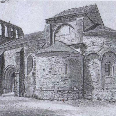 Trous noirs à l'abbaye Saint Félix de Monceau suite 2