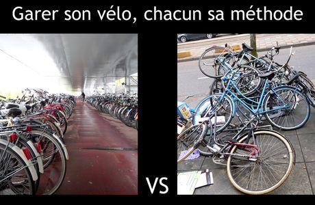 Garer son vélo à Amsterdam