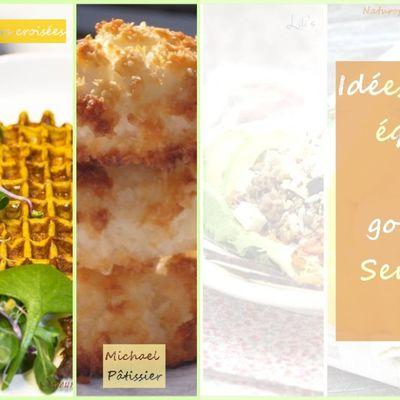 Idées de menus équilibrés & gourmands - Semaine 13 - Mars