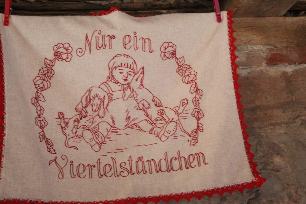 """Exposition """"Rouge Passion"""" à Kutzenhausen ( 1 )"""