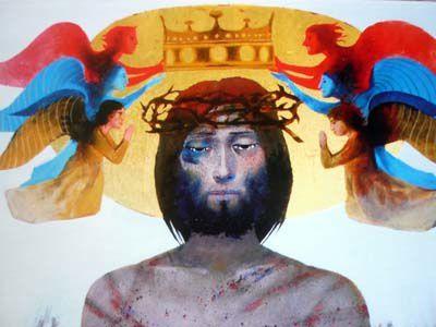 Arcabas « Vous contemplerez Celui que vous avez transpercé »