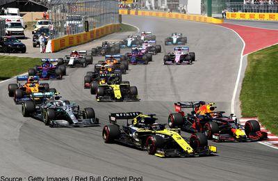 La F1 doit de nouveau adapter son calendrier