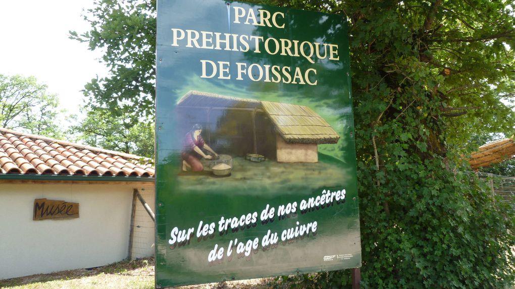 Sortie familiale aux grottes de Foissac et parc de découverte